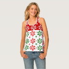 Peppermint Candy Christmas Tank Top