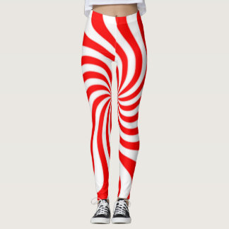 Peppermint Candy Leggings