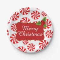Paper Plates  sc 1 st  Zazzle UK & Merry Christmas Designs Plates | Zazzle.co.uk