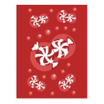 Peppermint Candy Post Cards