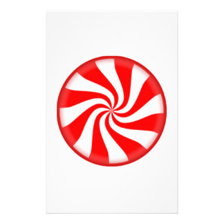 Peppermint Candy Stationery