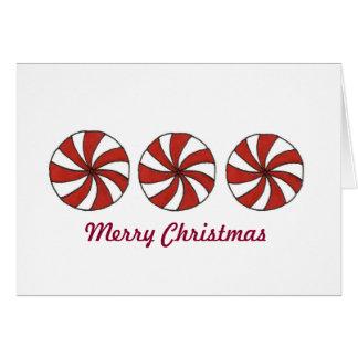 Peppermint Christmas Cards