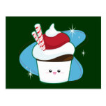 Peppermint Cupcake Post Cards