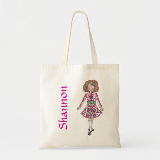 Peppermint Pink Irish Dancer Tote