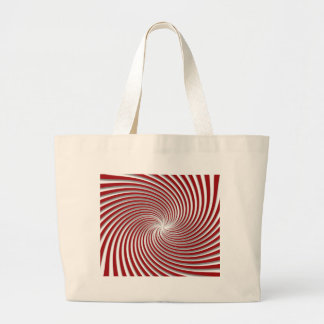 Peppermint Red Swirl and Shadow Bags