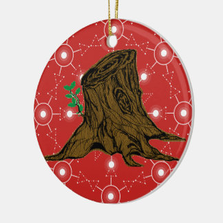 Peppermint Root of Jesse Tree Ornament