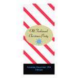 Peppermint Stick Christmas Invite