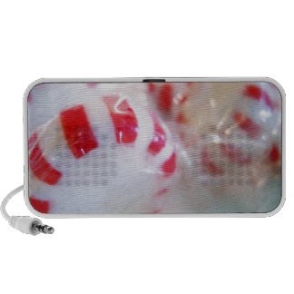 Peppermint Sweet Tooth Photo Laptop Speaker