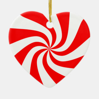 peppermint swirl candy christmas ornament
