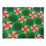 Peppermint Swirl Candy Post Card