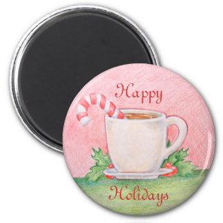 Peppermint Tea Magnet
