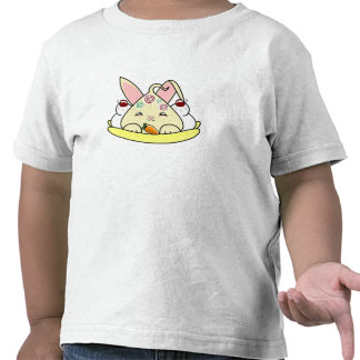 Peppermint Topped Vanilla Hopdrop Split Tee Shirts