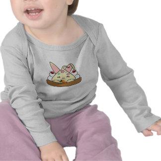 Peppermint Topped Vanilla Hopdrop Waffle Sundae Tee Shirt