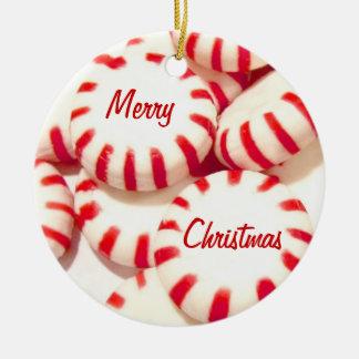 Peppermints Christmas Ornament