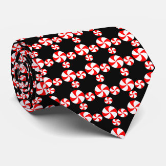 Peppermints Holiday Tie
