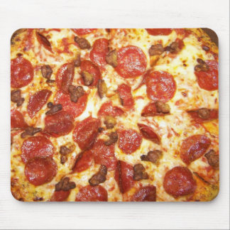 Pepperoni and Sausage Pizza Lover Mouse Mat
