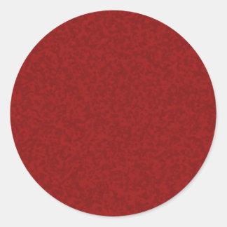 Pepperoni Classic Round Sticker