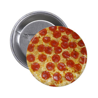 Pepperoni Perfection 6 Cm Round Badge