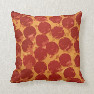 Pepperoni Pizza Cushion