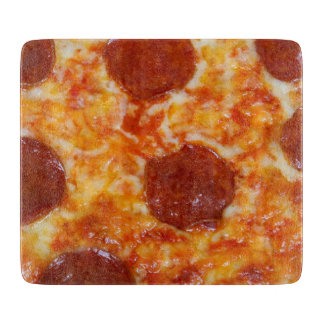 Pepperoni Pizza Cutting Boards