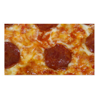 Pepperoni Pizza Pack Of Standard Business Cards