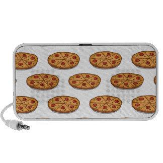 Pepperoni Pizza Pattern; Italian Food Speaker