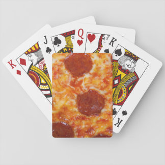 Pepperoni Pizza Poker Deck