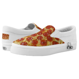 Pepperoni Pizza Printed Shoes