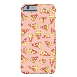 Pepperoni Pizza Slice Drawing Pattern iPhone Case