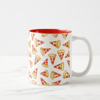Pepperoni Pizza Slice Drawing Pattern Mug