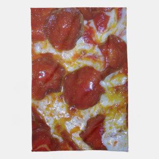 Pepperoni Pizza Tea Towel