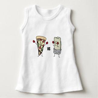 Pepperoni Pizza VS Burrito: Mexican versus Italian Dress