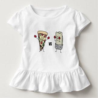 Pepperoni Pizza VS Burrito: Mexican versus Italian Toddler T-Shirt