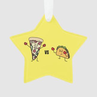 Pepperoni Pizza VS Taco: Mexican versus Italian