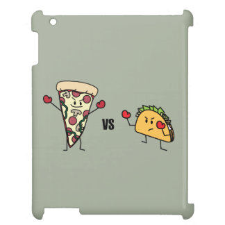 Pepperoni Pizza VS Taco: Mexican versus Italian Cover For The iPad 2 3 4