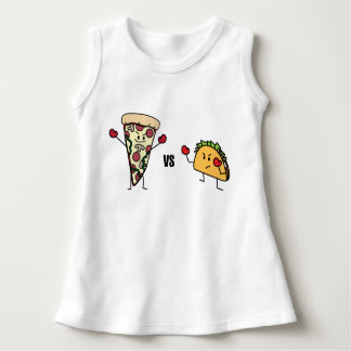 Pepperoni Pizza VS Taco: Mexican versus Italian Dress