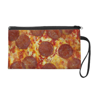 Pepperoni Pizza Wristlet Clutch