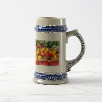 Peppers at Farmers Market Mugs