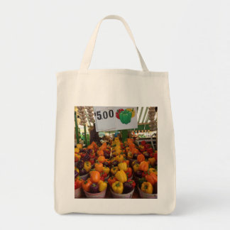Peppers at the Jean Talon Market Tote Bag