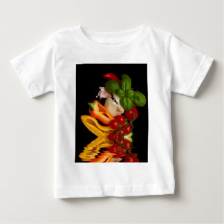 Peppers Basil Tomatoes Garlic Baby T-Shirt