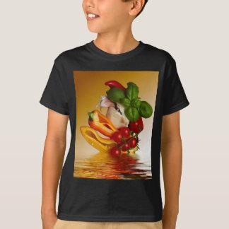 Peppers Basil Tomatoes Garlic T-Shirt