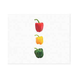 Peppers Canvas Prints