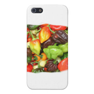 Peppers, hot and spicy photograph iPhone 5 case