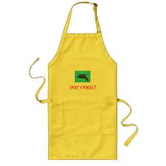 Peppers, HOT COOK! Long Apron