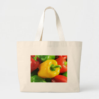 Peppers Large Tote Bag