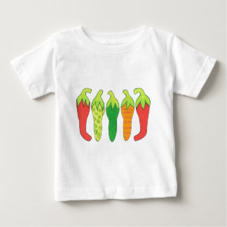 Peppers of Color Baby T-Shirt