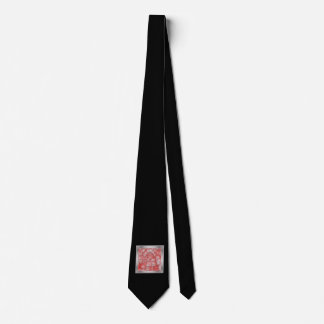 peppy crystals red (I) Tie
