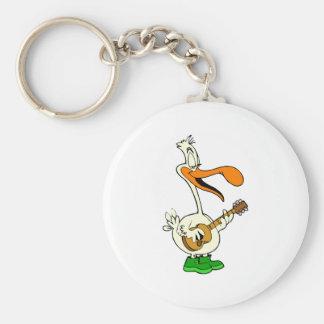 Peppy Pelican Key Ring