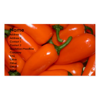 Peprika Peppers Business Cards