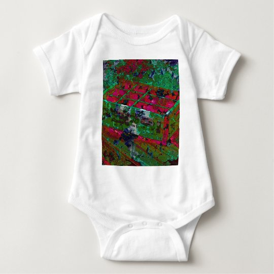 PEPSI CRATE COLLAGE BABY BODYSUIT